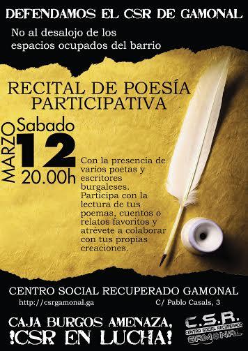 II Recital poesía participativa