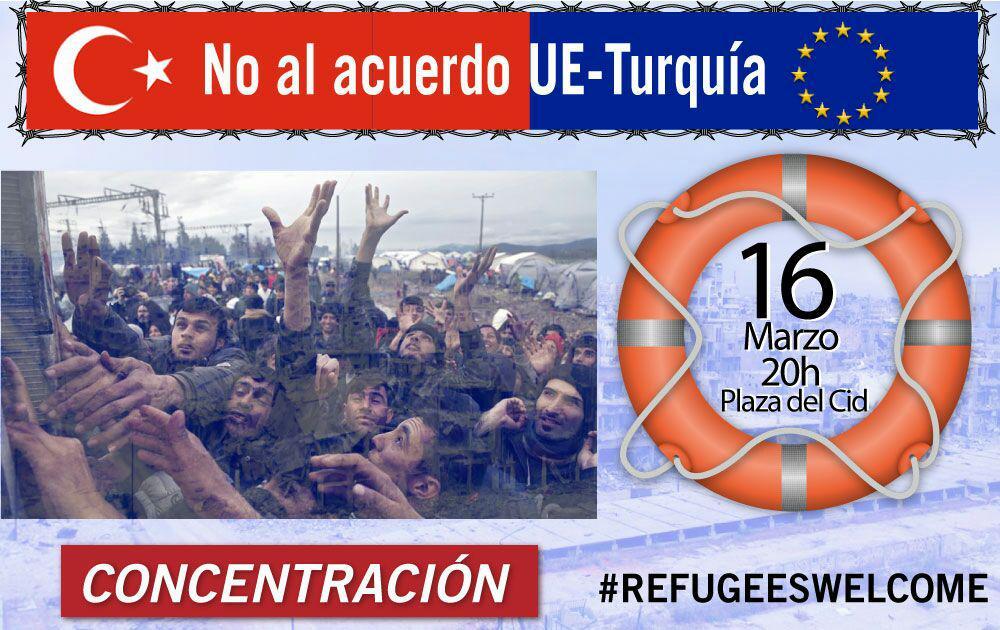 concentración refugiados