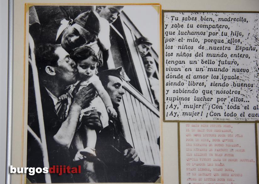 El interior de la estación muestra cinetos de fotos originales de aquellos trágicos años