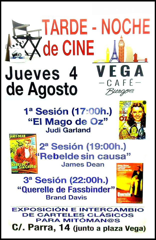 Sesión de Cine café-Vega