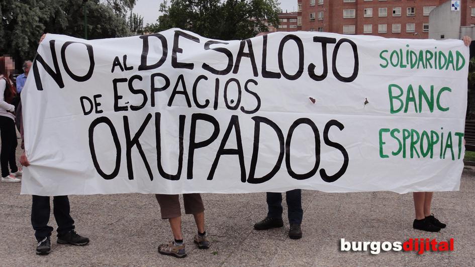 Csr de gamonal se solidariza con el banc expropiat de for Oficinas caixa burgos