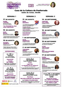 Universidad feminista de ponfenrrada