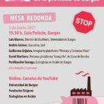 mesa debate macrogranjas provincia de burgos